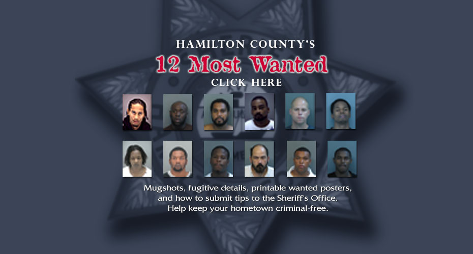 HCSO's Top 12 Most Wanted