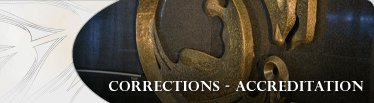Corrections Accreditation Banner