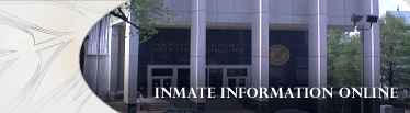 Inmate Information Online Banner