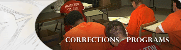 Corrections Programs Banner