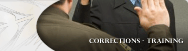 Corrections Training Banner