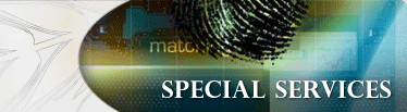 Special Services Banner