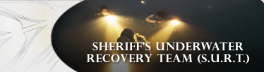 Sheriff's Underwater Recovery Team Banner